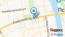 Арль на карте