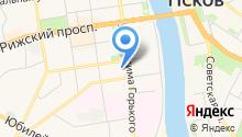 Адвокатский кабинет на карте