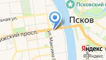 БОРС-Псков на карте