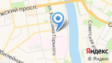 Берегиня на карте