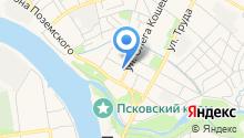 Администрация Псковского района на карте