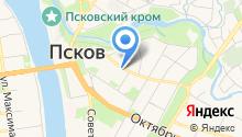 Каштанка на карте