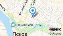 Псковский трест инженерно-строительных изысканий на карте