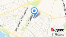 Автосервис на Ипподромной на карте