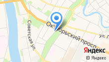 Центр спортивной подготовки, ГБУ на карте