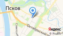 Endesign на карте