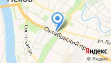 Белье на карте