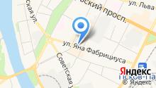 Банкомат, Банк ВТБ 24 на карте