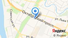 Garmin на карте