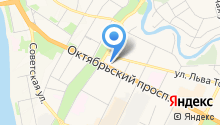 Октябрьская на карте