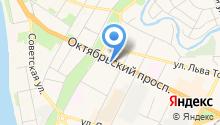 Вексимо Тейп Тур на карте
