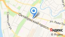 Бриония на карте