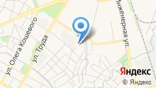 Автомобильные дороги Пскова на карте