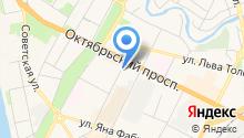 Агентство воздушных сообщений на карте