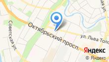Автомойка на Толстого на карте