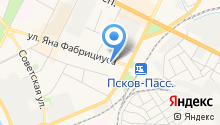 SkyPro на карте