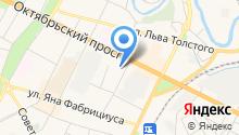 FlameDT на карте