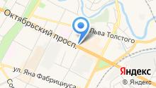 Адвокатский кабинет Ковалевич О.В. на карте
