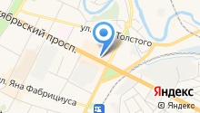 MODA на карте
