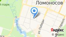 85 отдел полиции Управления МВД России Петродворцового района на карте