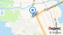 6 отряд ФПС по г. Санкт-Петербургу на карте