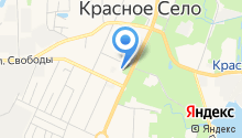 Отдел вселения и регистрационного учета граждан Красносельского района на карте
