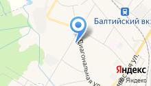 Шиномонтажная мастерская на ул. Авиатриссы Зверевой на карте