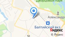 Фотоателье на ул. Генерала Кныша на карте