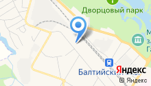 Псковский хлебокомбинат на карте