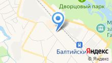 Северная на карте