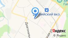 Автомойка на ул. Слепнёва на карте