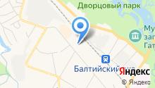 Шиномонтажная мастерская на ул. Генерала Кныша на карте