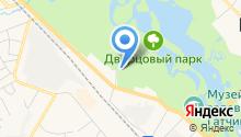 Модо на карте