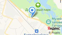 Гатчинская оранжерея на карте