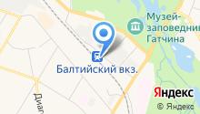 Остановка на карте