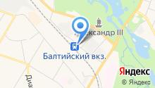 Магазин мясной продукции на ул. Григорина на карте