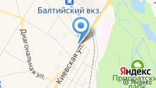 АЗС Neste Oil на карте
