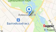Центральный военно-морской архив Министерства Обороны РФ на карте