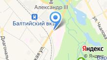 Автомойка на Киевской на карте