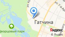 ЗАГС Гатчинского района на карте