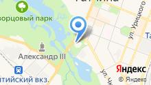Гатчинская детско-юношеская спортивная школа №1 на карте
