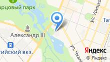 ЛОЭСК на карте