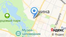 Гатчинская средняя общеобразовательная школа №11 на карте