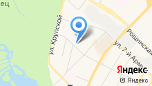 Обувной магазин на ул. Академика Константинова на карте