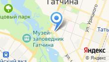 Магазин обуви на Красной на карте