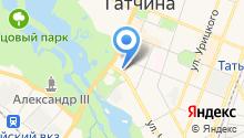 Инструмент на Красной на карте