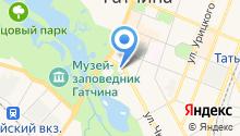 Гатчинская детская музыкальная школа им. М.М. Ипполитова-Иванова на карте
