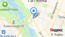 Гатчинка.рф на карте