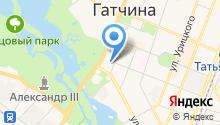 Жители блокадного Ленинграда на карте