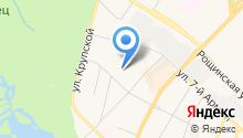 Городской архитектурно-планировочный центр г. Гатчины на карте